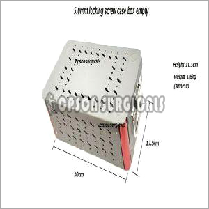 5.0mm Locking Screw Empty Box