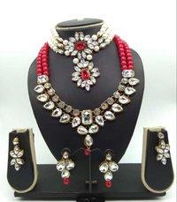 Kundan Combo Choker Necklace Set