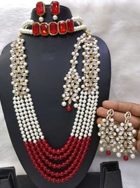 Combo Stone Necklace Set with Choker Necklace