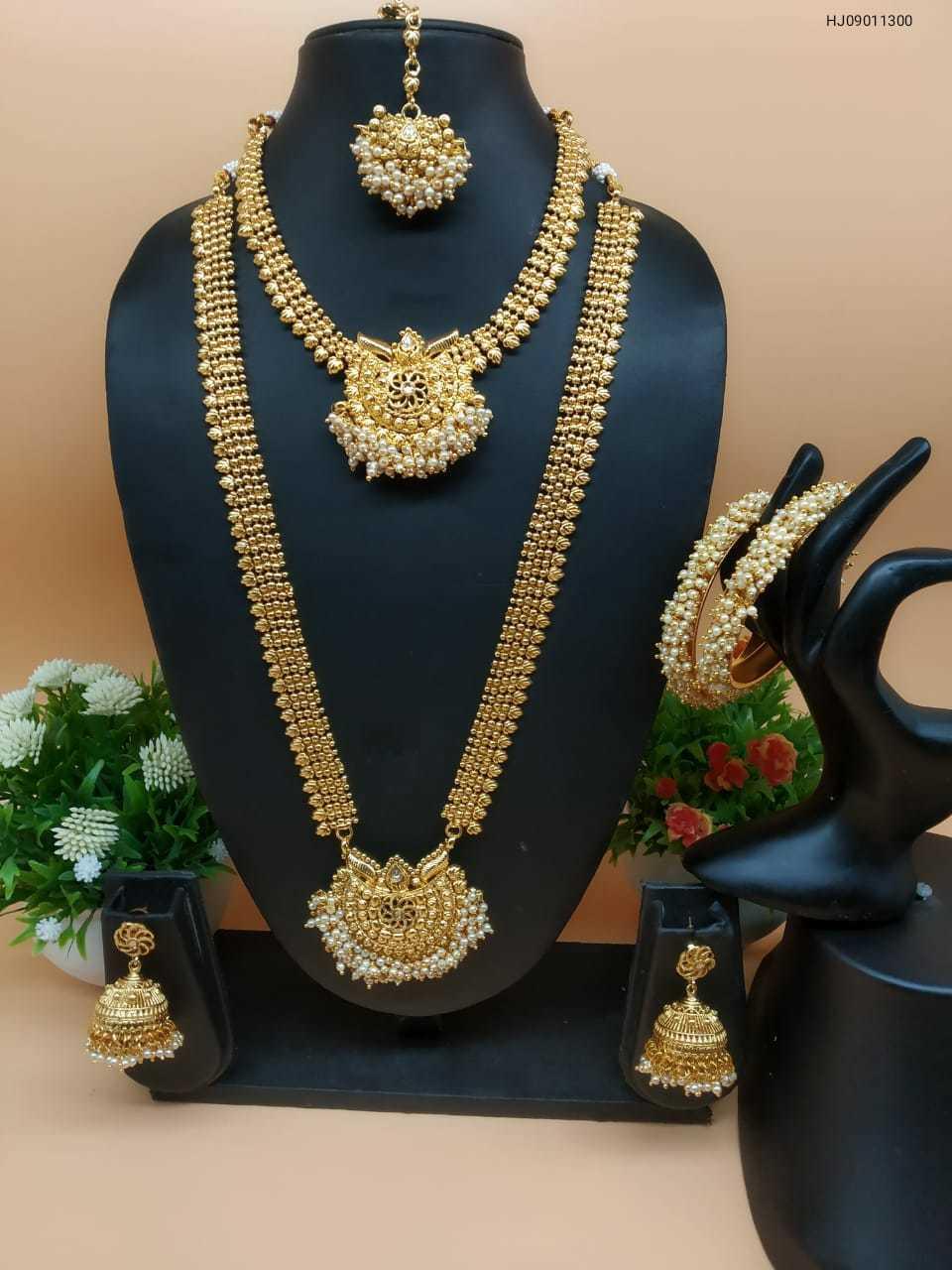 Temple Combo Necklace Set