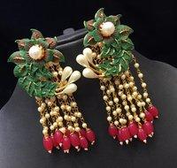 Long Jukhi Earrings