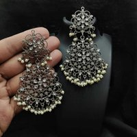 Bridal Kundan Earrings