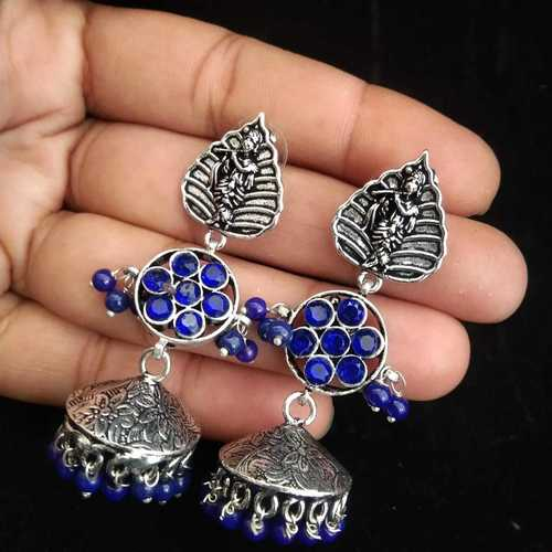 G Stone Earrings