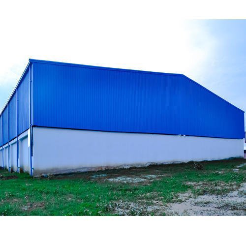 Prefabricated Steel Factory Shed