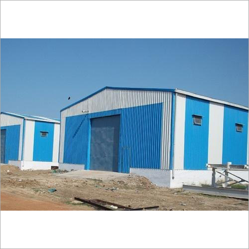 Prefabricated Steel Storage Shed