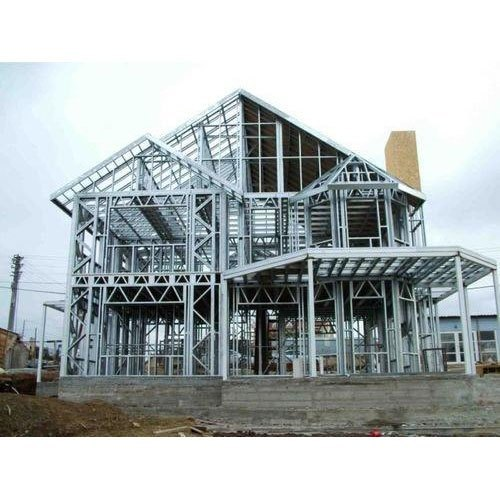 Mild Steel House Building Structure