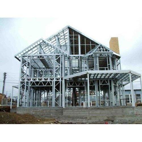 Mild Steel House Building Structure