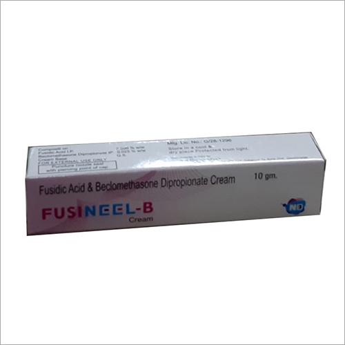 10 ml Fusidic Acid And Belomethasone Dipropionate Cream