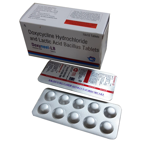LB Doxycycline Hydochloride And Lactic Acid Bacillus Tablets