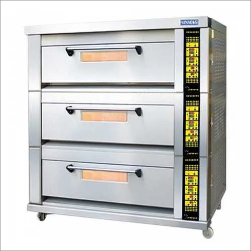 Sinmag Three Deck Gas Oven