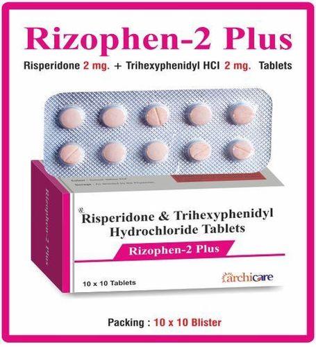 Risperidone+Trihexyphenidyl