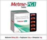 Metformin + Pioglitazone + Glimepiride