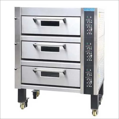Sinmag Three Deck Electric Oven