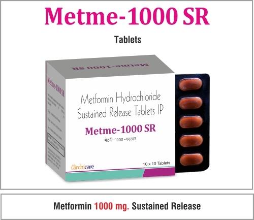 Metformin (SR)  1000mg.
