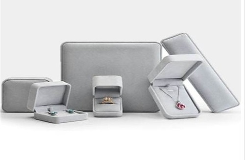 Silver Grey Jewellery Box Series