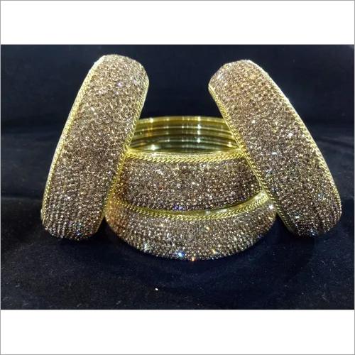 Golden Lakh Bangles