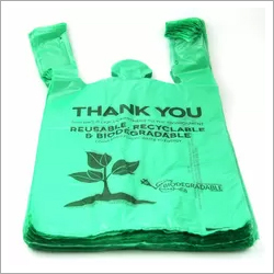 40 Percent Biobased Biodegradable Plastic Shopping Bags