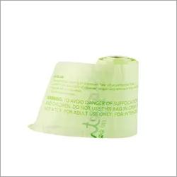 Waterproof 100 Percent Biodegradable Plastic Carry Bags