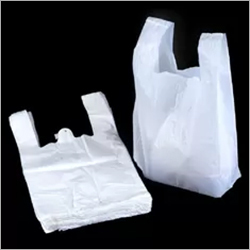 White 100 Biodegradable Plastic Bags