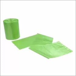 Clean Flat Disposable Food Waste Bags