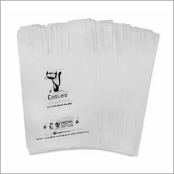 White Biodegradable Human Waste Bags