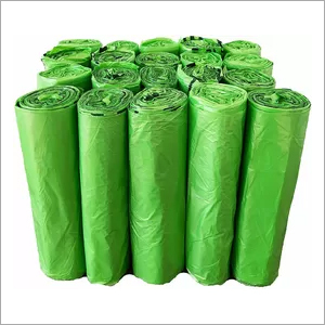 Green Biodegradable Kitchen Trash Bags