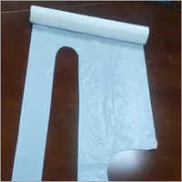 Stable Disposable White Plastic Aprons