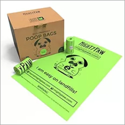 Eco Friendly Compostable Pet Waste Bags