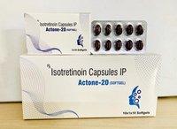 Isotretinoin 20 Softgel Capsules