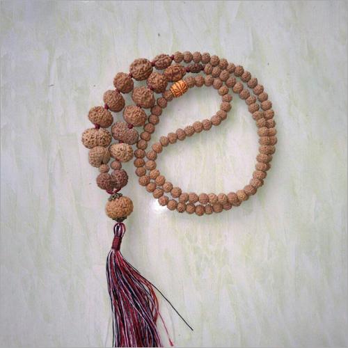 Brown Chanting Rudraksha Mala