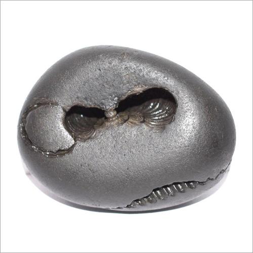 Oval Black Gemstone