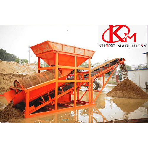 Inline Sand Screening Plant With Conveyor