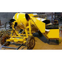 Concrete Mixer With Hydraulic Hopper And Weighing System