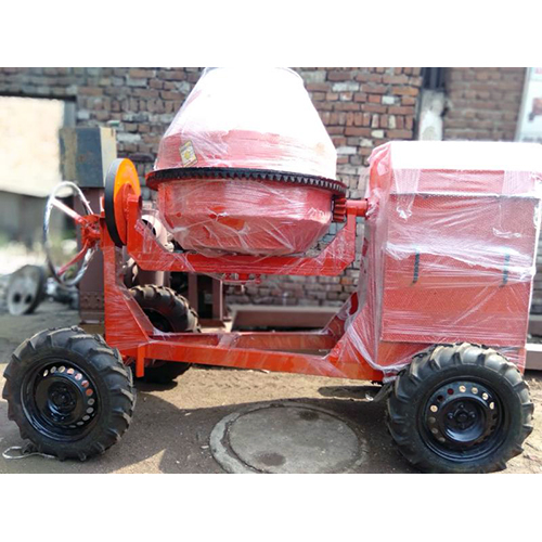 Concrete Mixer Machine (Capacity-One Bag)