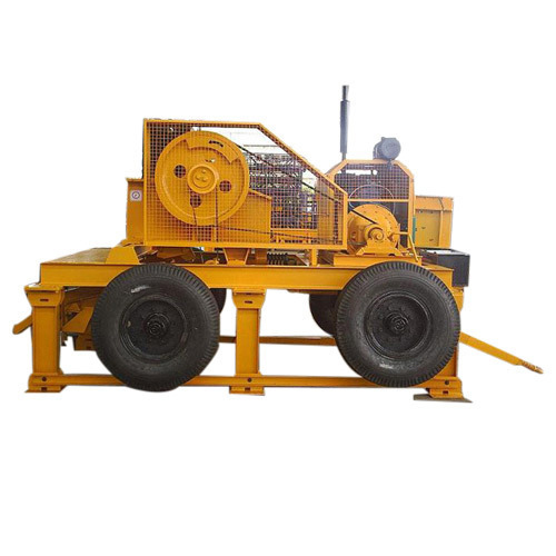 Mobile Stone Crusher (Capacity-20 tph)