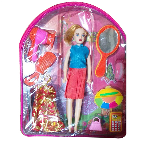 Cute Barbie Doll Toy Set