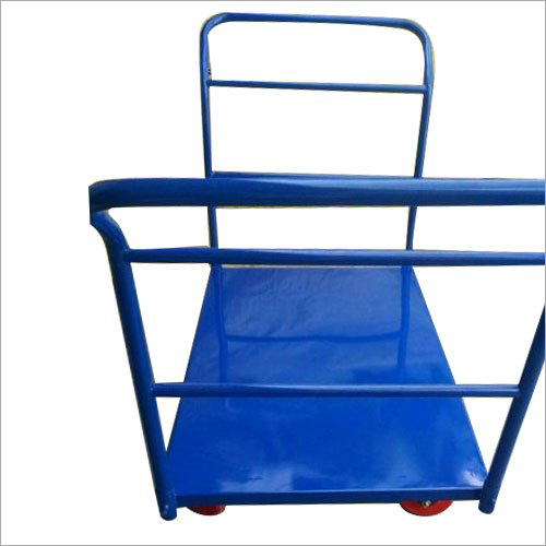 Color Coated Material Handling Trolley
