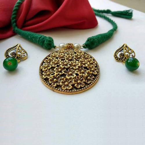 Cotton Threaded Necklace Set