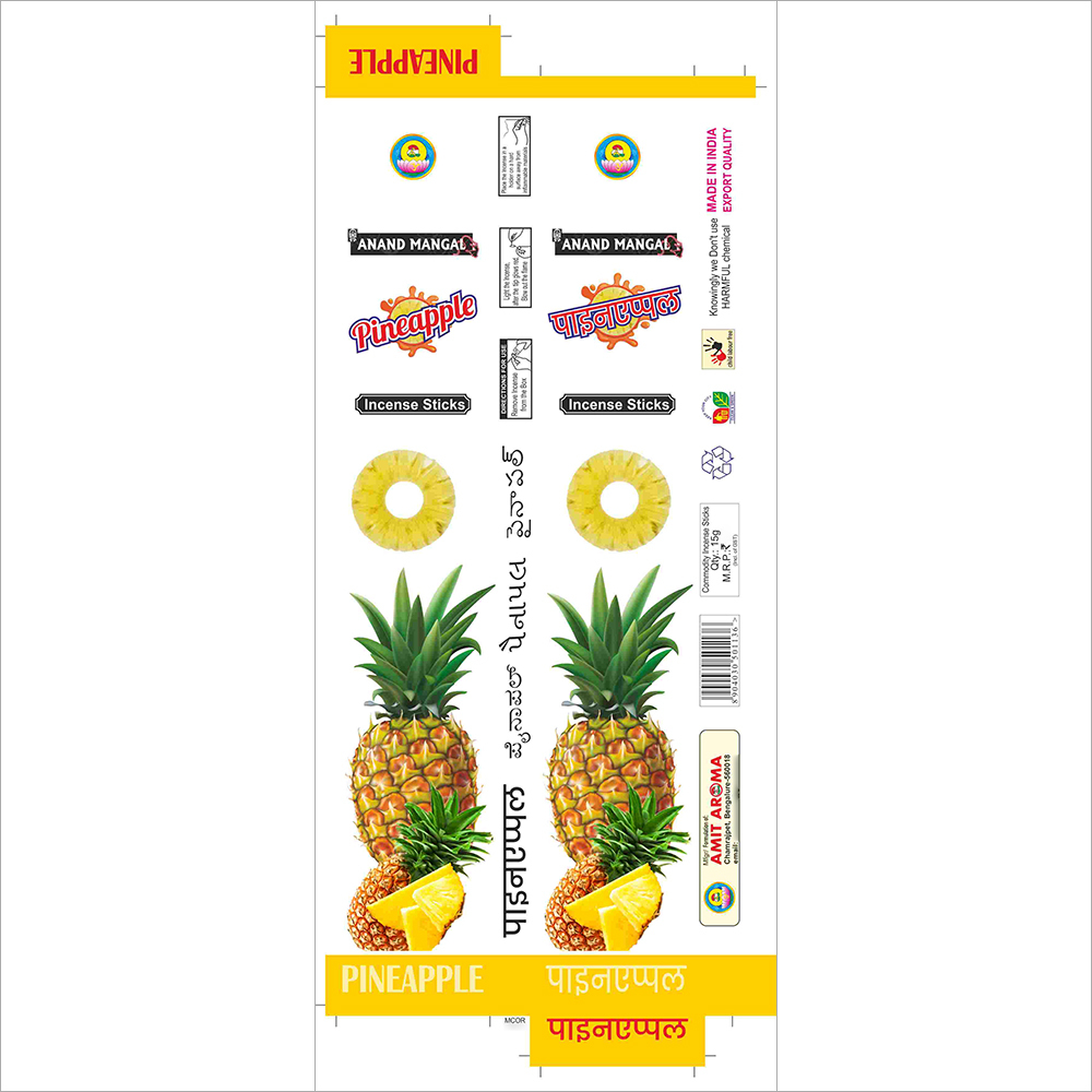 Pineapple Flouver Incense Sticks