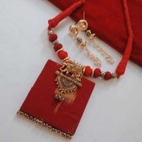 Fabric Fusion Necklace Set