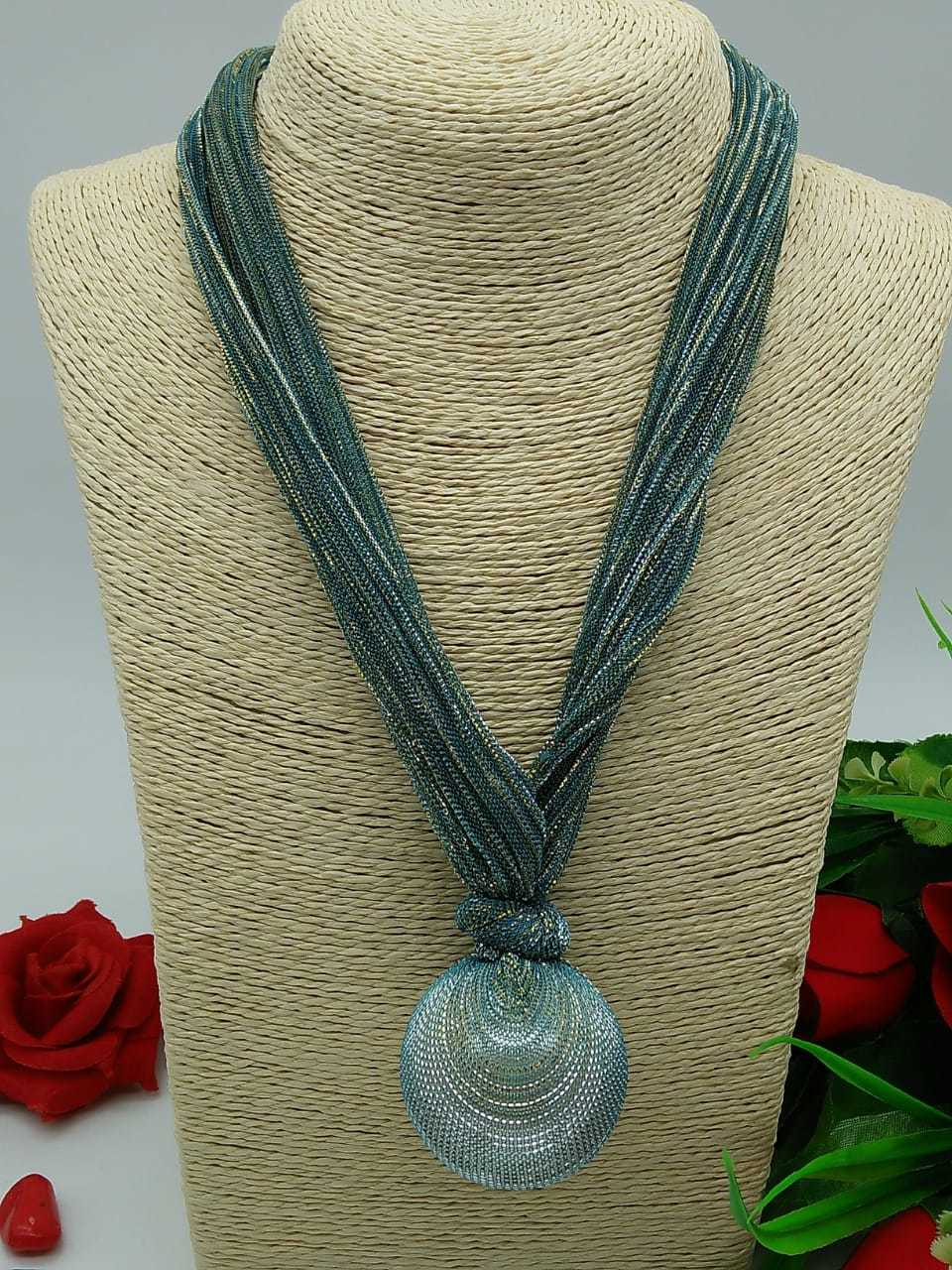 Fabric Western Necklace