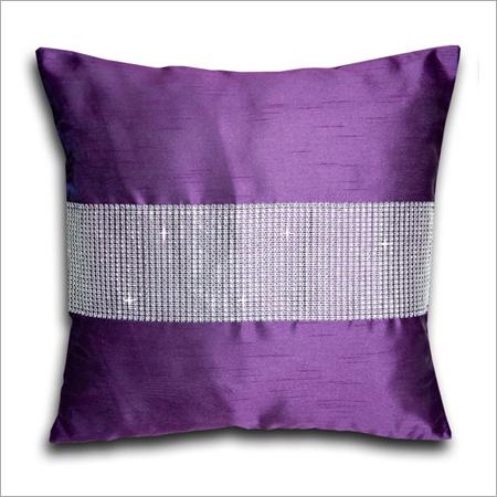 Purple Silk Cushion Covers
