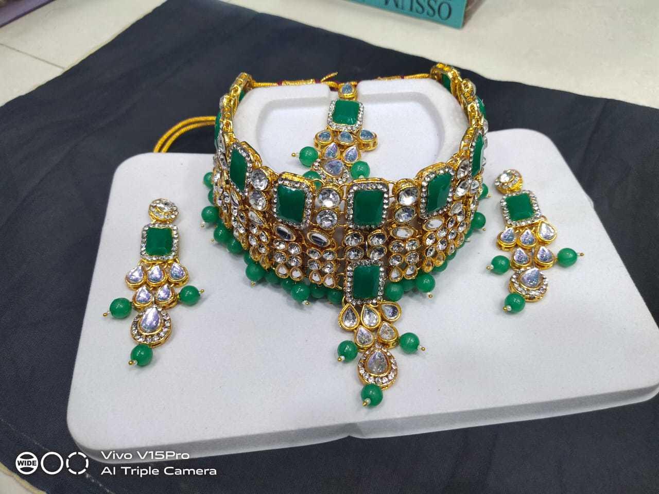 Designer Stone Necklace Set