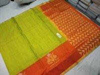 Pure Kanchipuram Side Butta Silk Saree