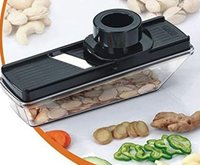 Dry Fruit Compact Plastic Cutter Slicer With Holder And Container
