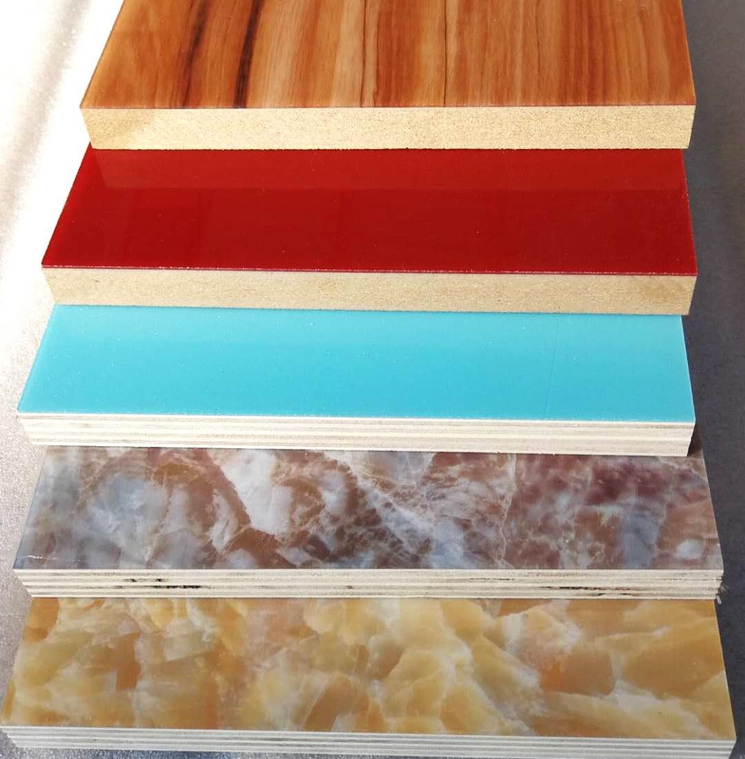 Acrylic Veneered Plywood N Mdf Board