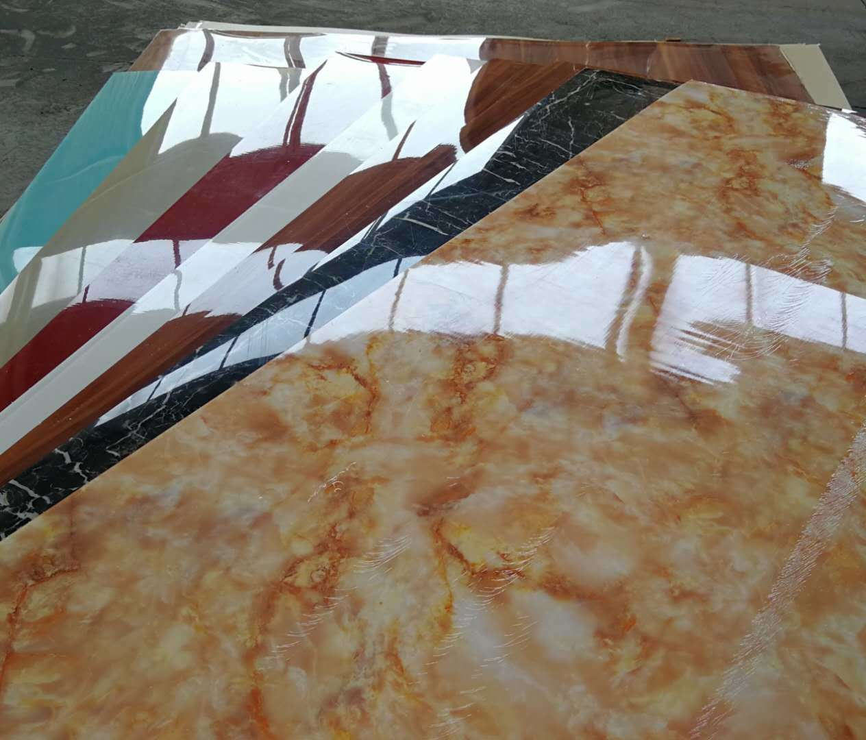 PVC marble UV Coating Wall panel  Series