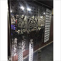 SS Staircase Laser Cutting Jali And Railing Pipe
