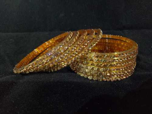 Party Wear Glass Bangle