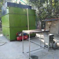Rectangular Construction Type Of Biogas Plant